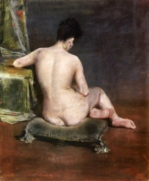 William Merritt Chase - Pure (The Model)