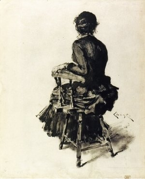William Merritt Chase - Figure Study (I)
