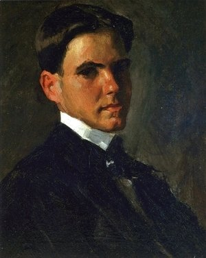 William Merritt Chase - Portrait of Julian Oderdonk