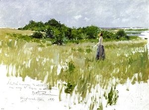 William Merritt Chase - Shinnecock Hills, aka A View of Shinnecock