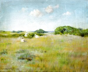 William Merritt Chase - A Summer Day