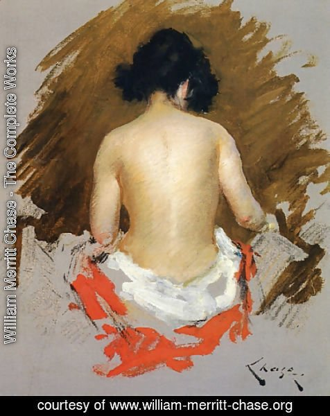 William Merritt Chase - Nude