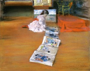 William Merritt Chase - Shinnecock Interior Studio