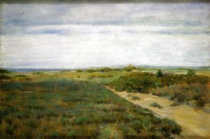 William Merritt Chase - Near the Sea (aka Shinnecock)