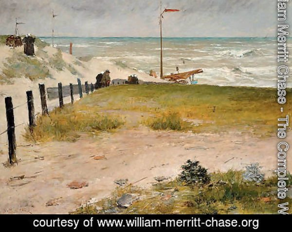 William Merritt Chase - The Coast of Holland