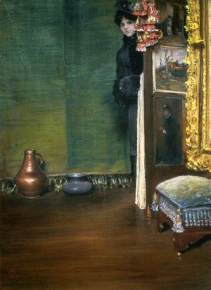 William Merritt Chase - May I Come In