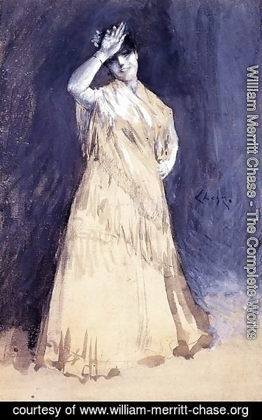 William Merritt Chase - Mrs. Chase as the Senorita