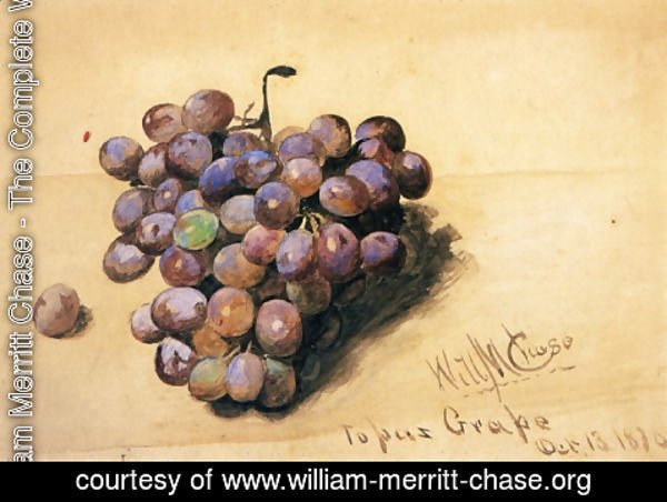 William Merritt Chase - Topaz Grapes