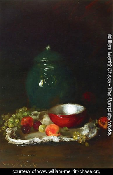 William Merritt Chase - The LIttle Red Bowl