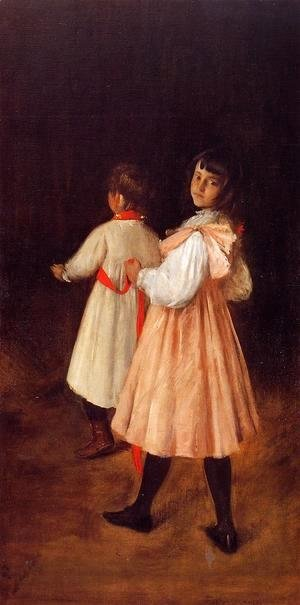William Merritt Chase - At Play