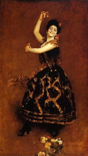 William Merritt Chase - Carmencita