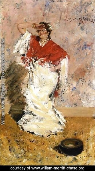 William Merritt Chase - Dancing Girl