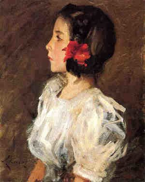 William Merritt Chase - Dorothy2