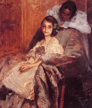 William Merritt Chase - Dorothy And Her Sister2