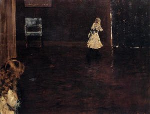 William Merritt Chase - Hide And Seek