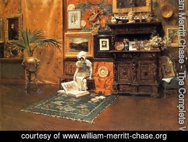 William Merritt Chase - In The Studio2