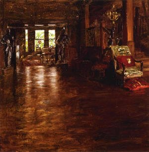 William Merritt Chase - Interior  Oak Manor