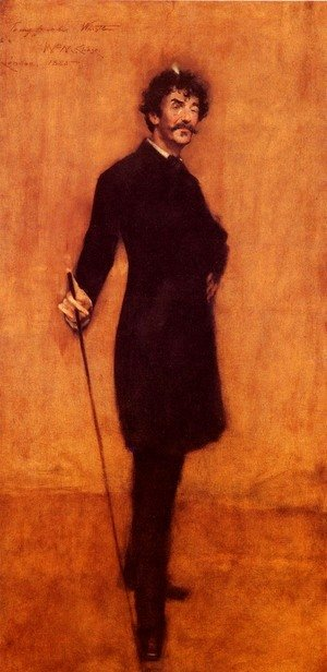 William Merritt Chase - James Abbott McNeill Whistler