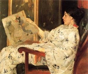 William Merritt Chase - Japanese Print