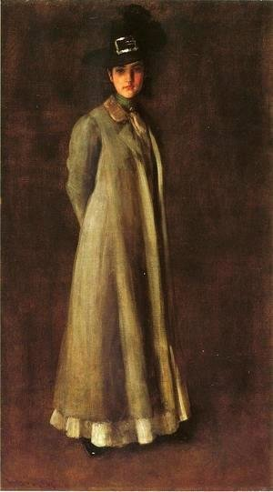 William Merritt Chase - My Daughter Dieudonne (Alice Dieudonne Chase)