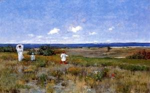 William Merritt Chase - Near The Beach  Shinnecock