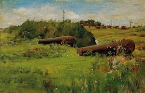 William Merritt Chase - Peace  Fort Hamilton