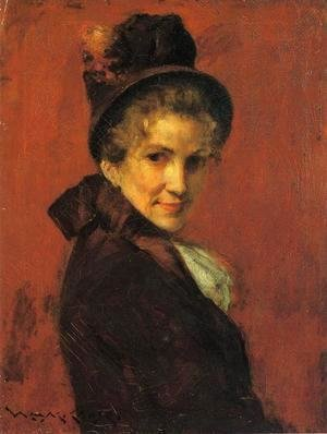 William Merritt Chase - Portrait Of A Woman2