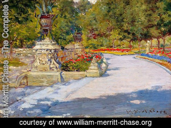 William Merritt Chase - Prospect Park