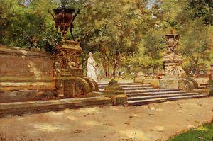 William Merritt Chase - Prospect Park  Brooklyn
