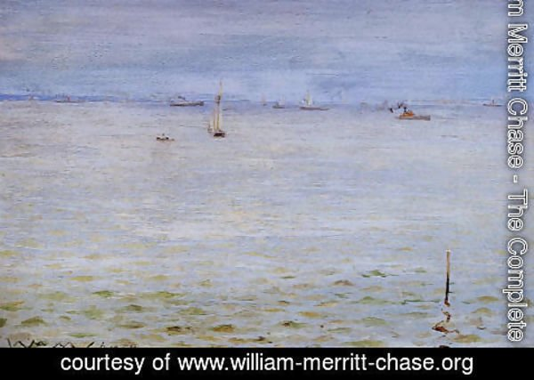 William Merritt Chase - Seascape