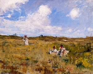 William Merritt Chase - Shinnecock Landscape2