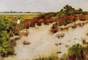 William Merritt Chase - Shinnecock Landscape3