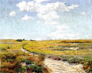 William Merritt Chase - Sunny Afternoon  Shinnecock Hills
