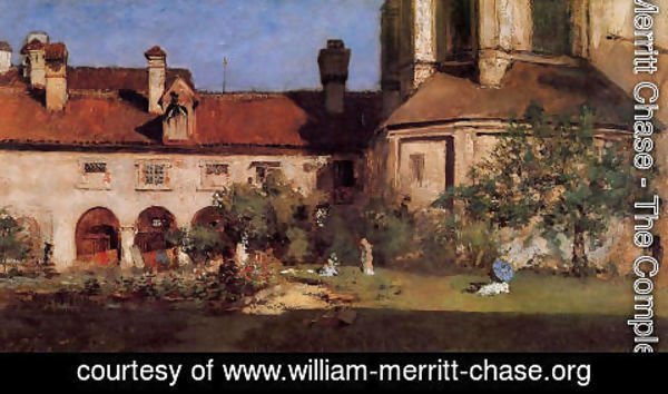 William Merritt Chase - The Cloisters