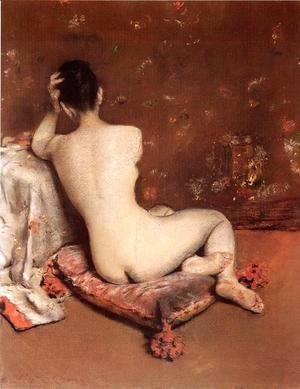 William Merritt Chase - The Model