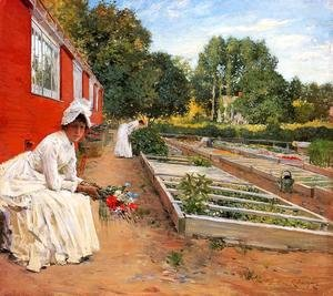 William Merritt Chase - The Nursery