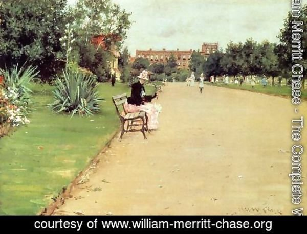 William Merritt Chase - The Park2